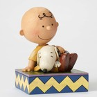 Peanuts (Jim Shore) Charlie Brown and Snoopy