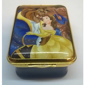 Bilston & Battersea Beauty and the Beast Enamals Box