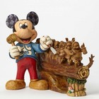 Disney Traditions Mickey Ten Year Anniversary Piece