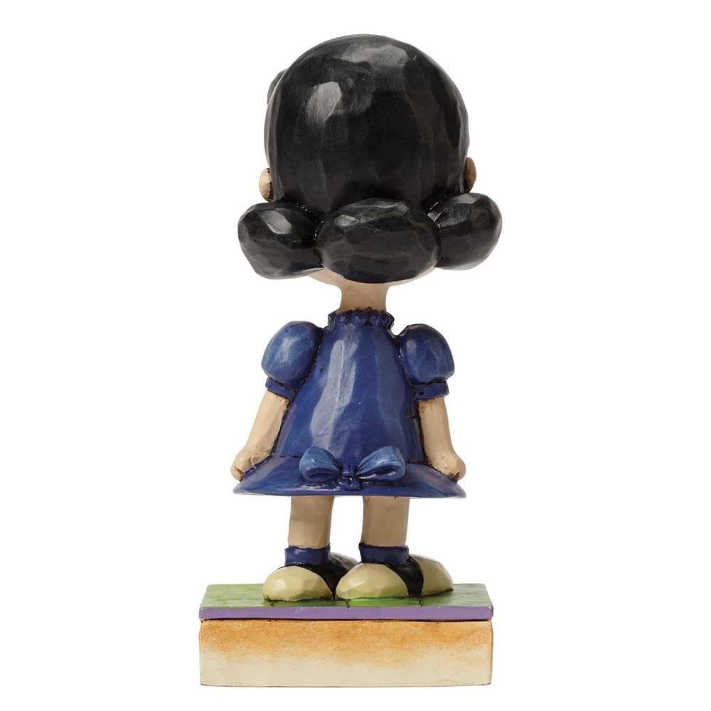 Jim Shore PEANUTS Figurine Little Miss Fussbudget Lucy  Ornament