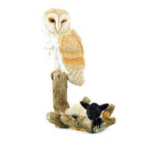 Country Artists Barn Owl with Lamb