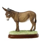 Border Fine Arts Donkey (Brown)