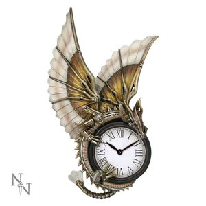Anne Stokes Clockwork Dragon Wall Clock