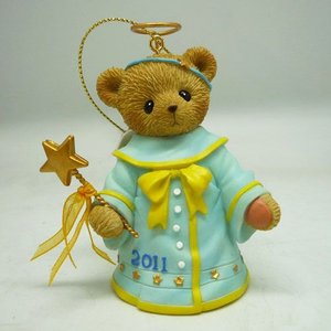 Cherished Teddies Bell Angel 2011