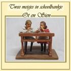 Ot en Sien Twee meisjes in schoolbank