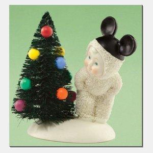 Snowbabies Christmas Mouse