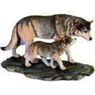 Studio Collection Wolf with Cub