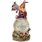 Studio Collection Fairy on Globe Purple