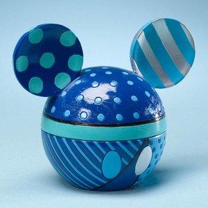 Disney Britto Blue Mickey Ears Box