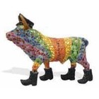 Barcino Design Bull on Boots Mosaic