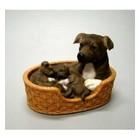 Leonardo Collection Stafford Bull Terrier w. Pups