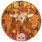 Linda Ravencroft Phoenix Rising Clock