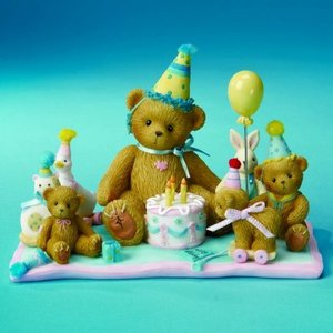 Cherished Teddies A Special Birthday