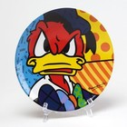Disney Britto Plate Donald Duck