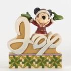 Disney Traditions 'Joy' Mickey Santa (Mickey Mouse)