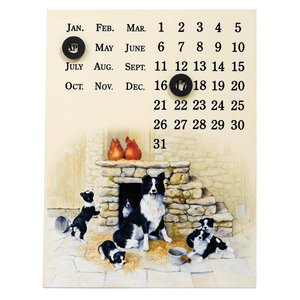 Border Fine Arts Jock's Pride Magnetic Calendar