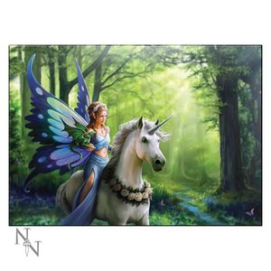 Anne Stokes Realm of Enchantment Glass Picture (Small)