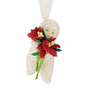 Snowbabies Baby Blossom Ornament