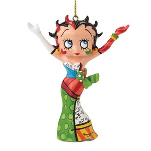 Britto Betty Boop Betty Boop Hanging Ornament
