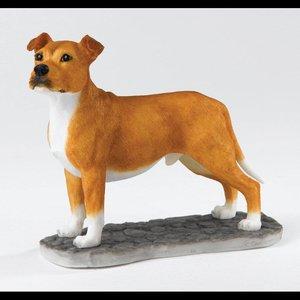 Border Fine Arts Staffordshire Bull Terrier (Tan & White)