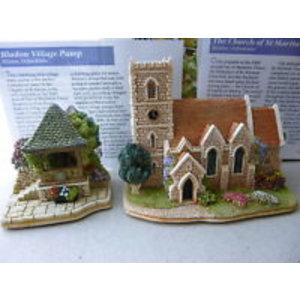 Lilliput Lane Church of St Martin + Bladon Village Pump