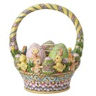 Jim Shore's Heartwood Creek Tisket A-Tasket Easter Basket