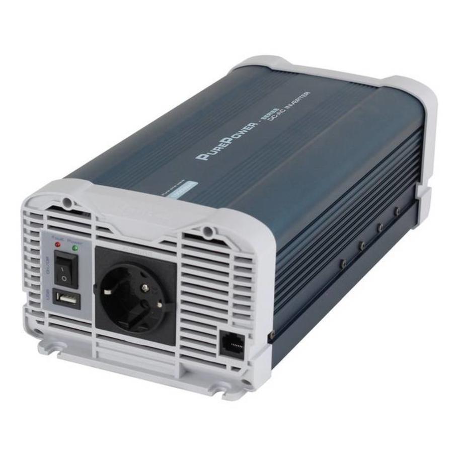 Xenteq Zuivere Sinus 600 Watt 24 Volt - 230 Volt