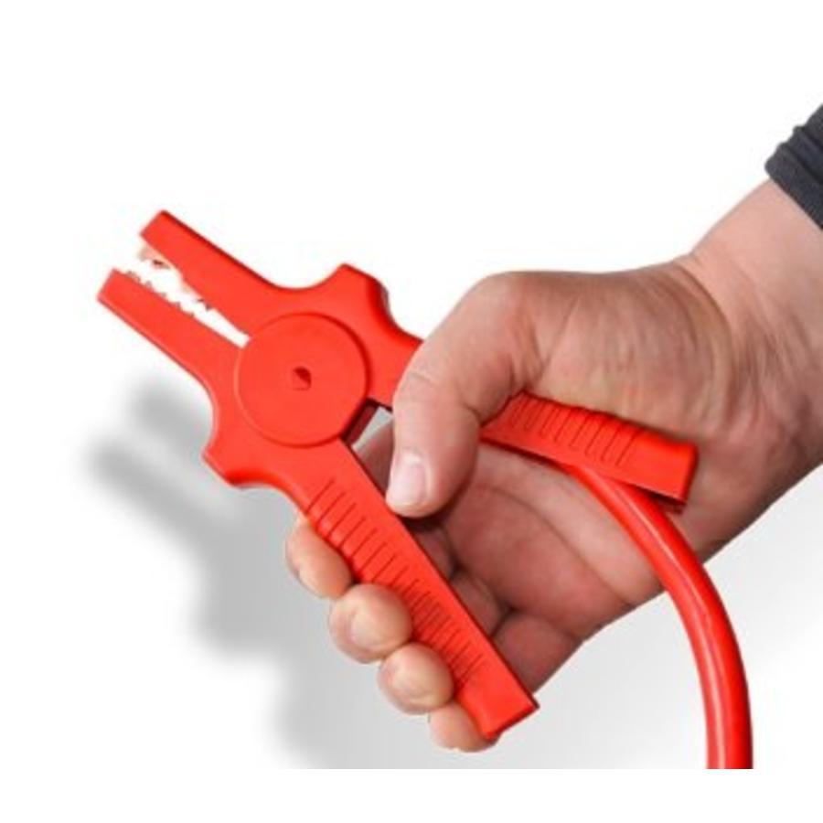 Startkabel 4,5 meter 35 mm² kabel inclusief startknijpers