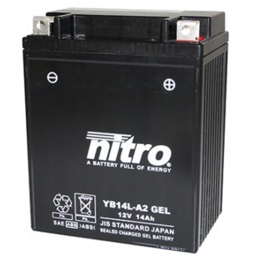Nitro Gel accu 12 Volt 14 Ah YB14L-A2