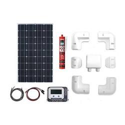Zonnepaneelset Enjoy Solar compleet 110 Watt 12 Volt