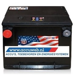 Start accu 12 Volt 78 Ah USA (57010)