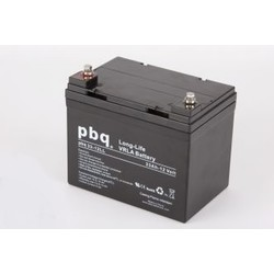 PBQ Deep Cycle AGM accu 12 Volt 33 Ah
