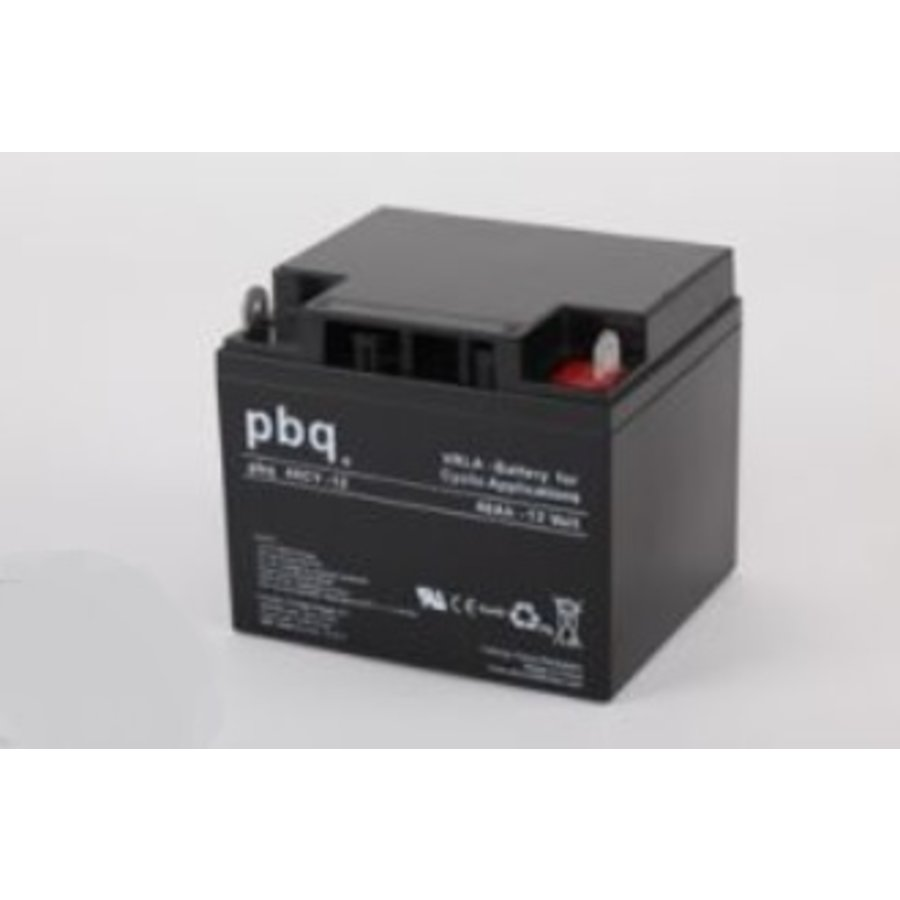 PBQ Deep Cycle AGM accu 12 Volt 50 Ah