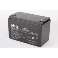PBQ Deep Cycle AGM accu 12 Volt 100 Ah