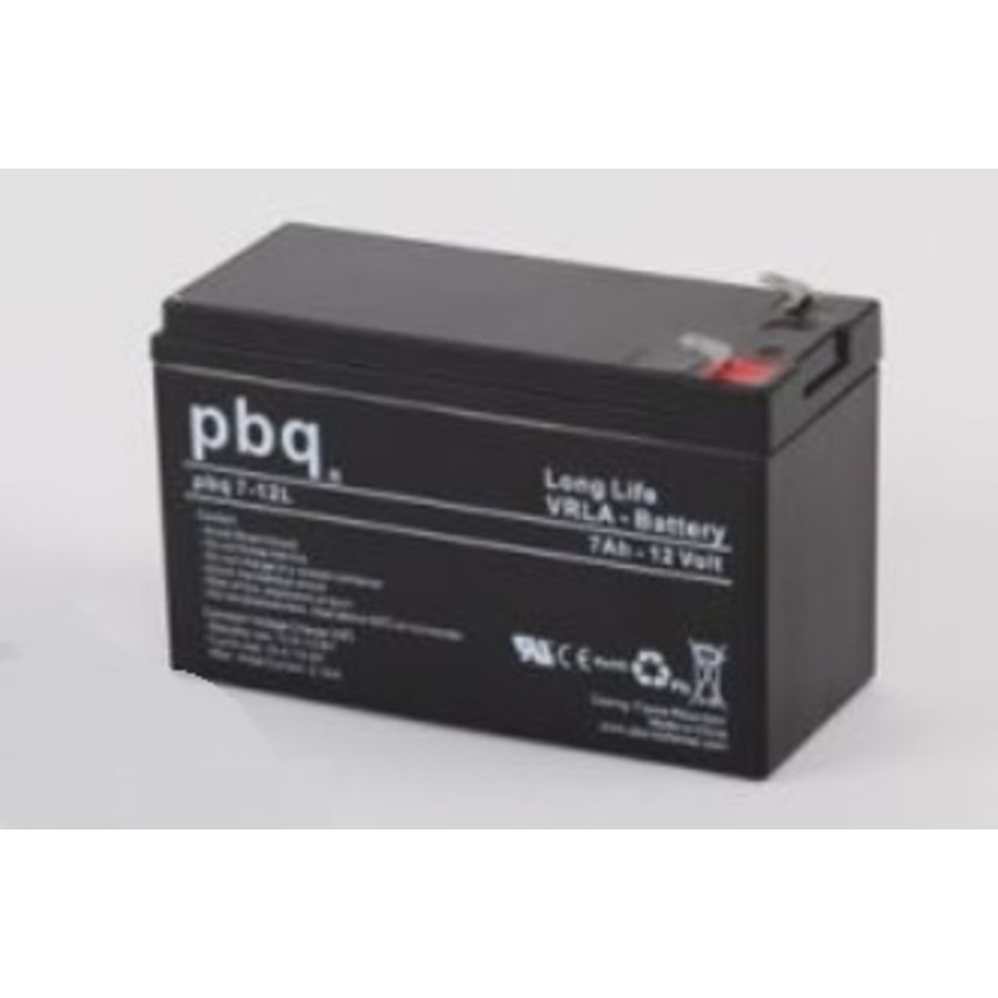 PBQ Deep Cycle AGM accu 12 Volt 9 Ah