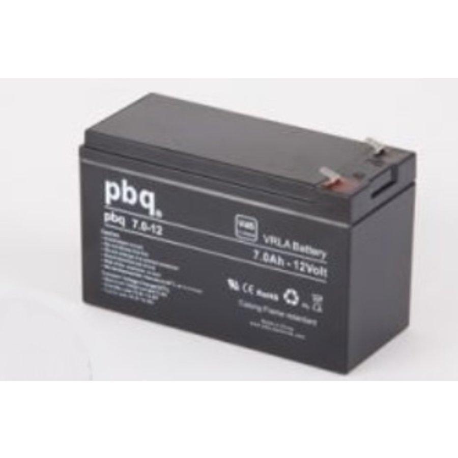 PBQ / Nitro VRLA AGM accu 12 Volt 7 Ah