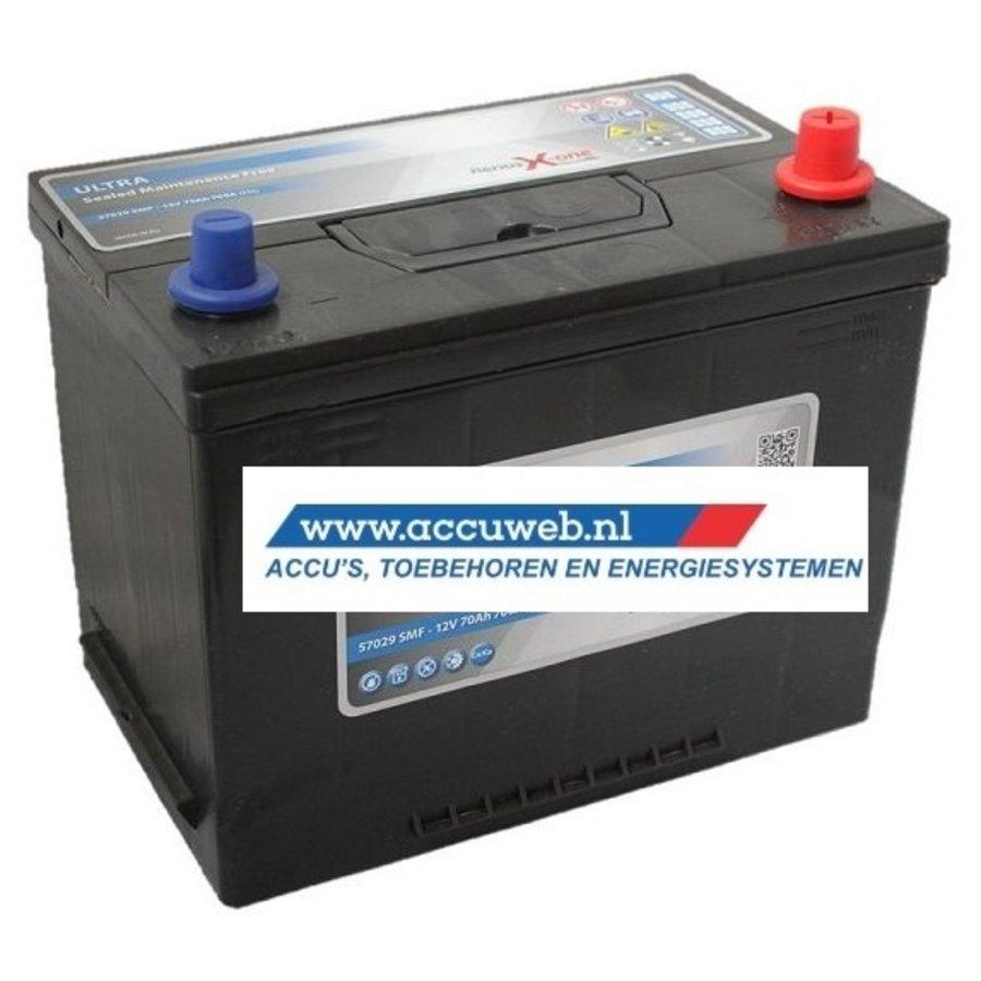Startaccu DC Power 12 Volt 70 Ah + Rechts (57029)