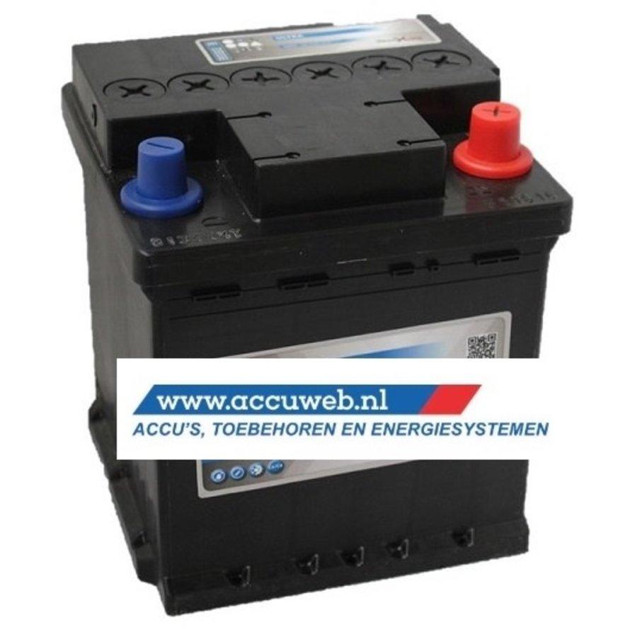 Startaccu DC Power 12 Volt 40 Ah + Rechts (54018)