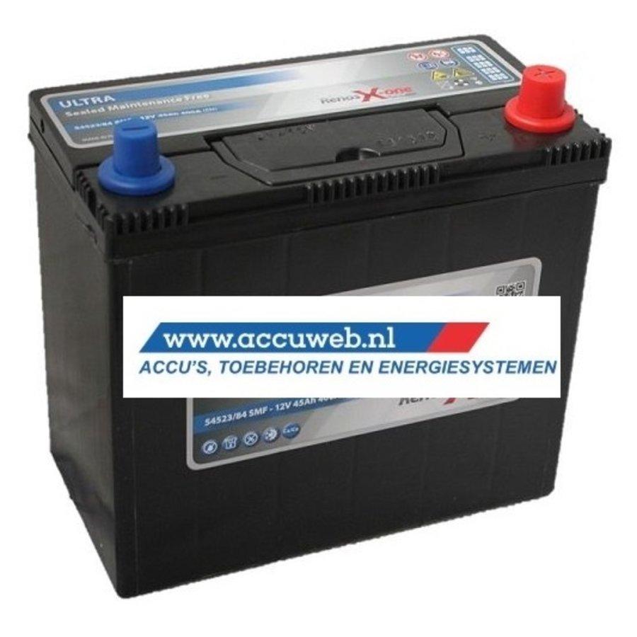 Startaccu DC Power 12 Volt 45 Ah + Rechts (54523)