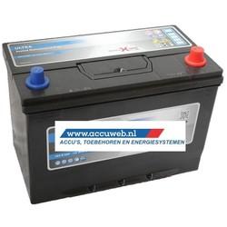 Startaccu DC Power 12 Volt 100 Ah + Rechts (60032)