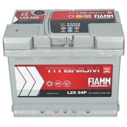 Startaccu Fiamm12 Volt 64Ah + Links (55565 / 560127/56221)