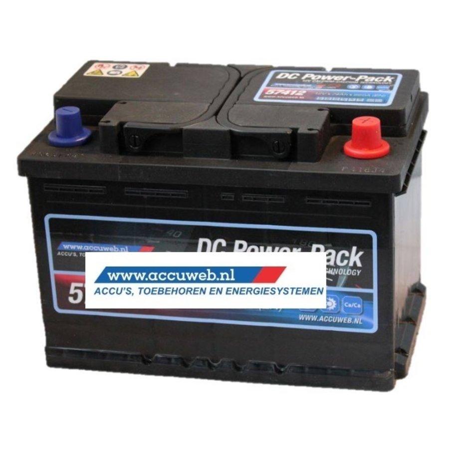 Startaccu DC Power 12 Volt 74 Ah 680 A EN
