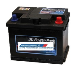 Startaccu DC Power 12 Volt 60 Ah 480 A EN