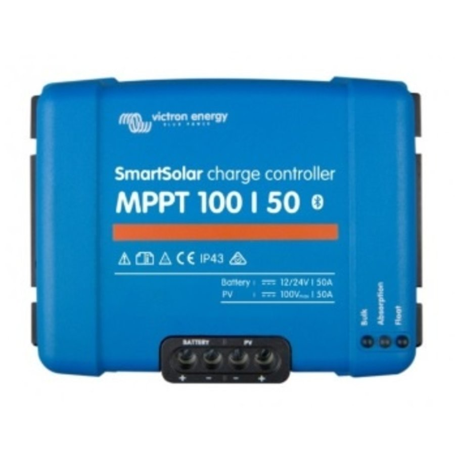 Victron SmartSolar MPPT 100/50 12V/24V 50A Laadregelaar