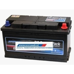 Startaccu DC Power 12 Volt 85 Ah 720 A EN