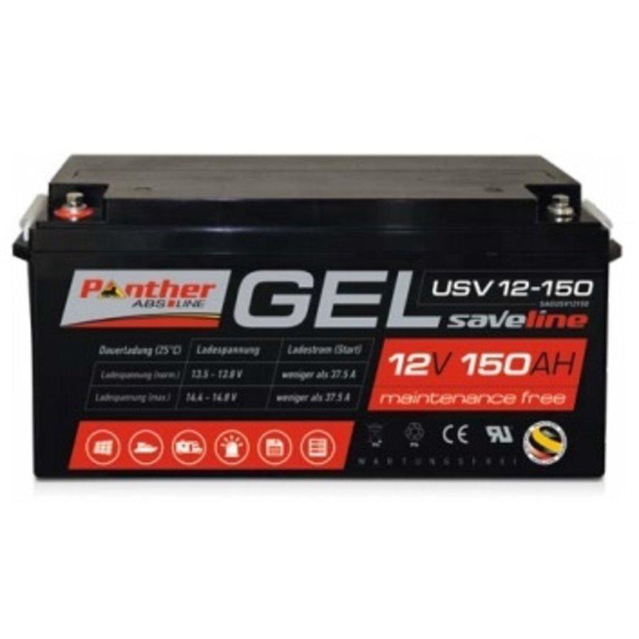 Panther USV Master Gel accu 12 Volt 150 Ah