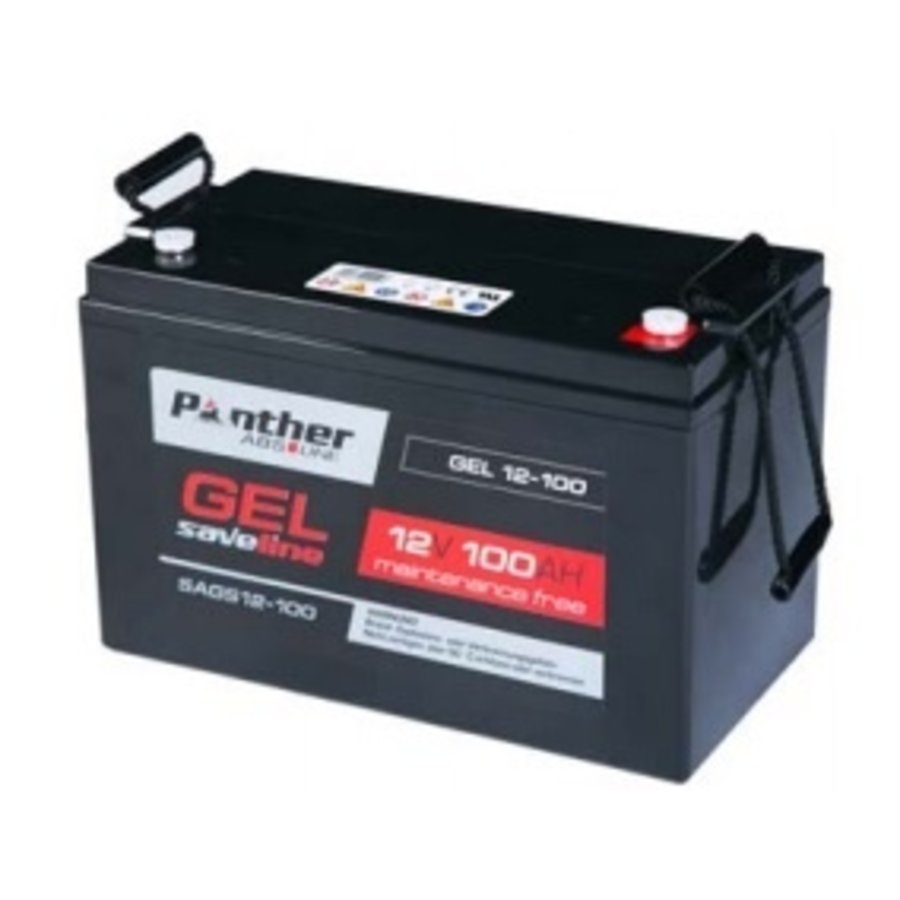 Panther Saveline USV Master Gel accu 12 Volt 100 Ah