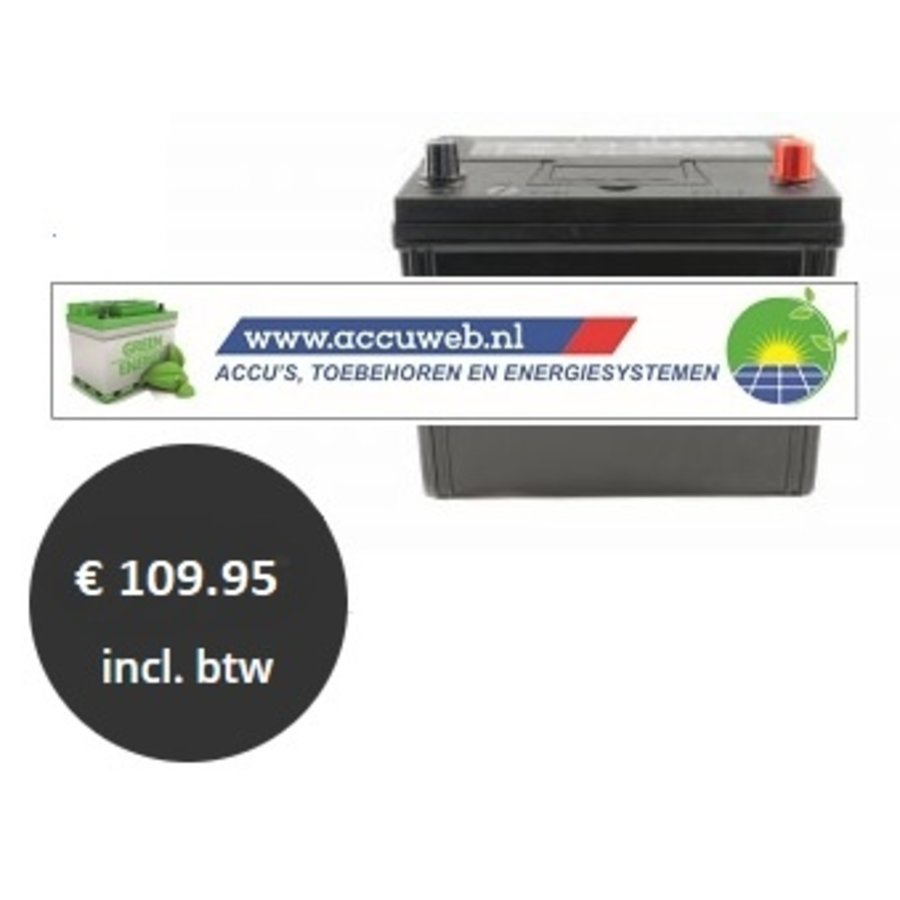 Accuweb Start & Stop EFB 12 Volt 65 Ah (56068)