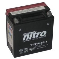 Nitro AGM  accu 12 Volt 14 Ah YTX16-BS 1