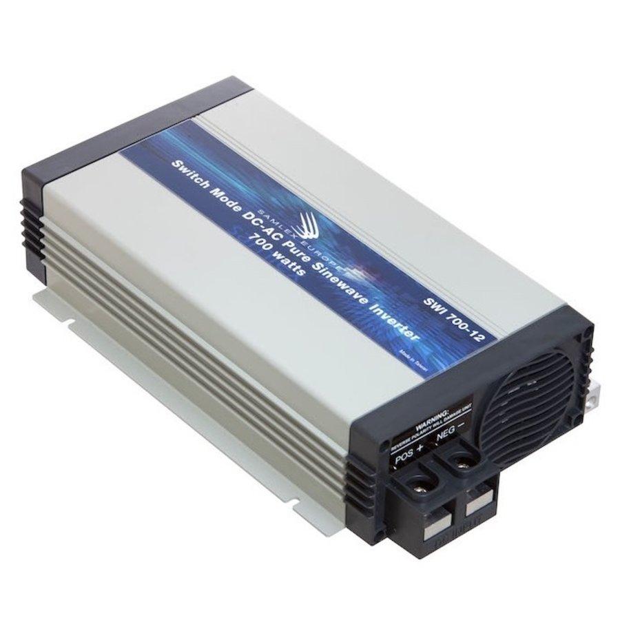 Samlex omvormer zuivere sinus 12 Volt - 230 Volt 700 Watt